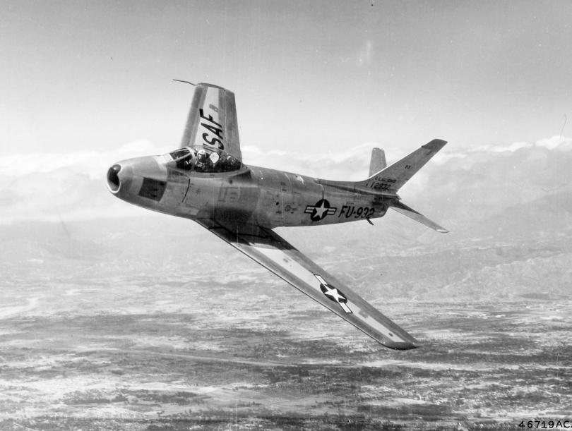 North American F-86F-35-NA  Sabre